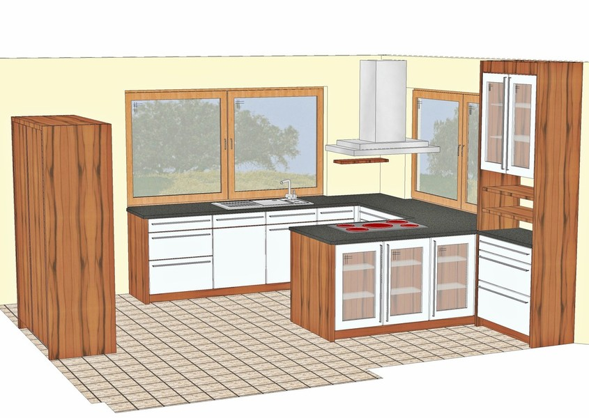 Küchenplanung  Schreinerei Sporrer X. - Küchenplanung